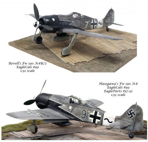 """EagleCals #99-32 Fw 190 A-8s Sturmjager IV./JG 3 """"Udet""""-3260"""