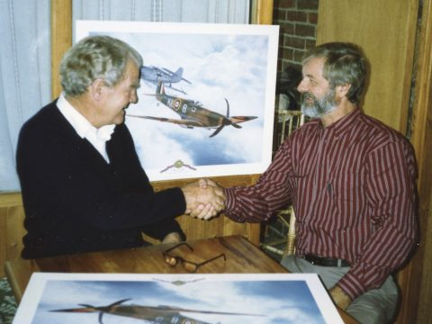 Alan C. Deere KIWI II Spitfire-2918