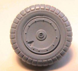 EagleParts #48-32 - Fw 190 Main Tire and Wheel set -0