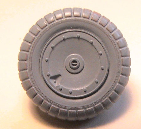 EagleParts #48-32 - Fw 190 Main Tire and Wheel set -0