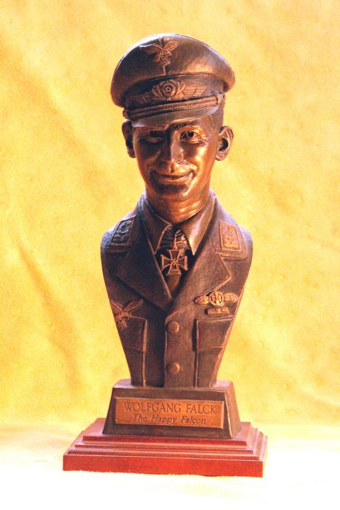 Wolfgang Falck bust~MUST SHIP VIA PRIORITY MAIL 3-DAY-0