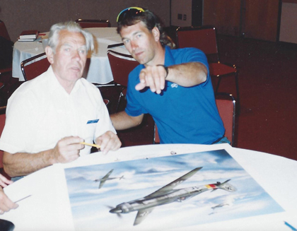 Alan C. Deere KIWI II Spitfire AP-2921