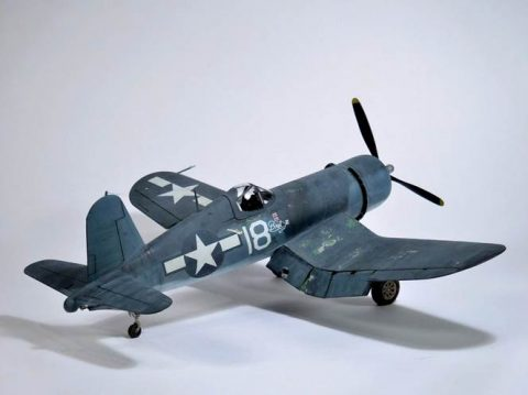 EagleCals #161-48 F4U 1 Corsairs Part 1-3026