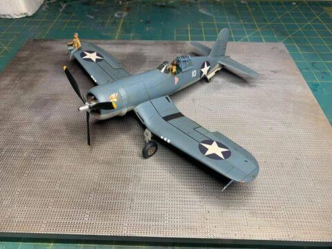 Brian Scott's 48th Tamiya F4U-1