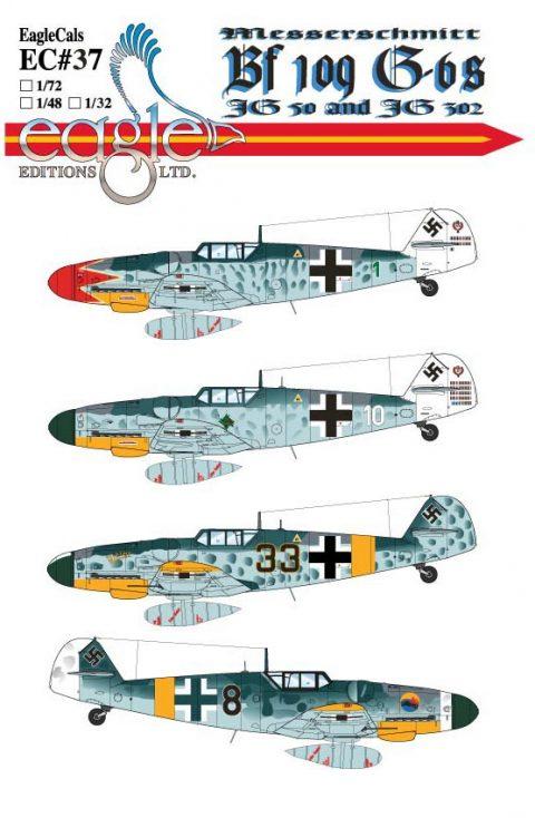 EagleCals #37 Bf 109 G-6s-0