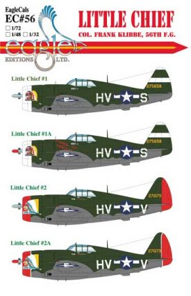 EagleCals #56 Little Chief P-47-0