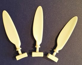 EagleParts #64-32 Fw 190 D-9 corrected propeller blades for the 1/32nd Hasegawa kit-0