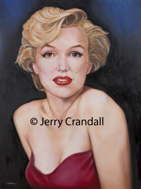 Ruby Lips - Marilyn Monroe Giclée-0