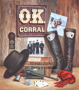 TOMBSTONE oil by Jerry Crandall-0