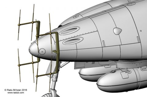 RB-C32005 1/32 Me 262 B1a/U1 Radar Antennas and Pitot Tube-0