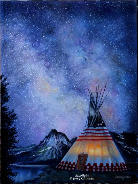 Starlight oil by Jerry Crandall-0