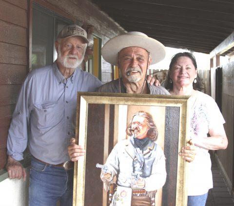 Peter Sherayko as Texas Jack Vermillion signed print-3097