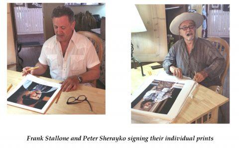 Peter Sherayko as Texas Jack Vermillion signed print-3098