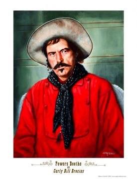 Powers Booth as Curly Bill Brocius poster-0