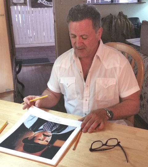 Frank Stallone as Ed Bailey in Tombstone~signed print-3092