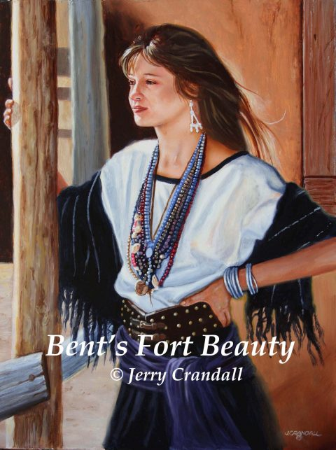 Bent's Fort Beauty oil by Jerry Crandall-0