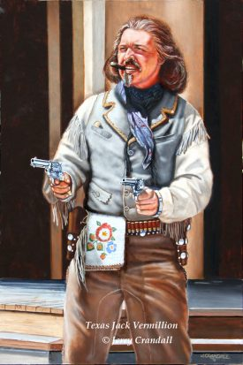 Peter Sherayko as Texas Jack Vermillion Giclée-0