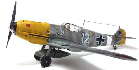 21st Century 1:18 static model Bf 109-3214