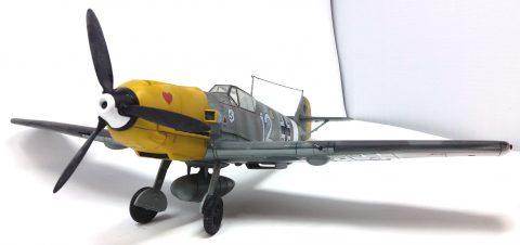 21st Century 1:18 static model Bf 109-3218