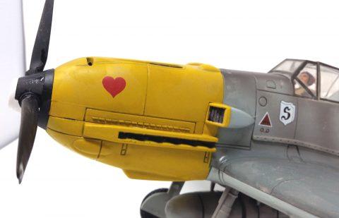 21st Century 1:18 static model Bf 109-3213