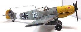 21st Century 1:18 static model Bf 109-0