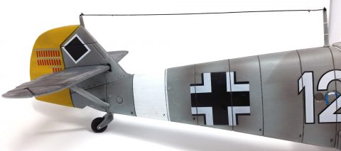 21st Century 1:18 static model Bf 109-3217