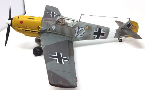 21st Century 1:18 static model Bf 109-3212