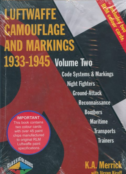 Luftwaffe Camouflage and Markings 1933-1945 Vol. Two Merrick and Kiroff-0