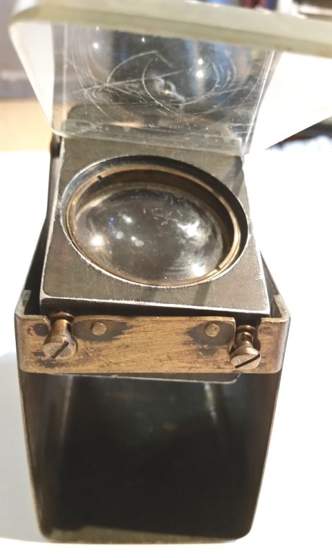WWII gun sight, unusual-3289