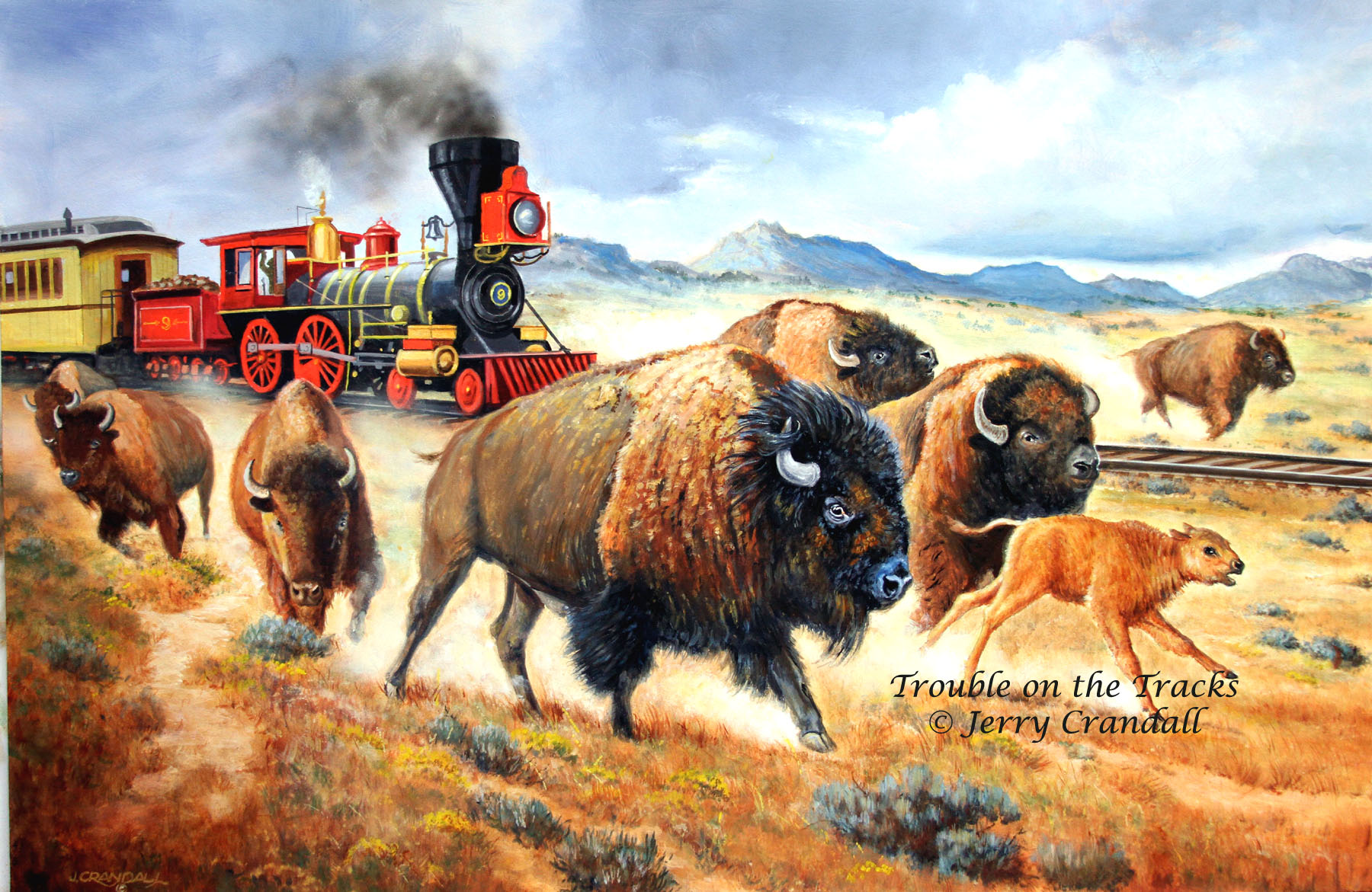 Trouble on the Tracks ~ Jerry Crandall