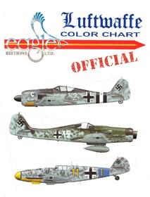 Luftwaffe Color Chart Chips